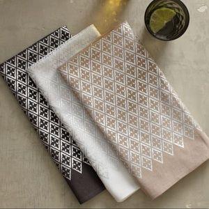 West Elm Grey Cloth Napkins